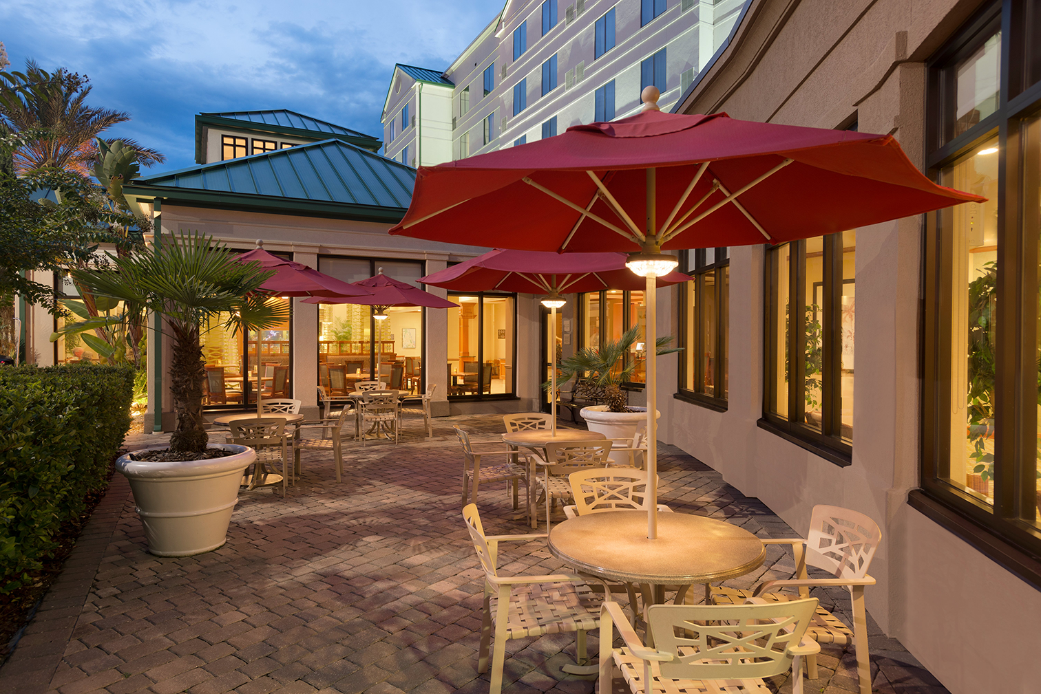 Hilton Garden Inn Palm Coast Town Center – Pavilion Lounge and Patio – 1056533